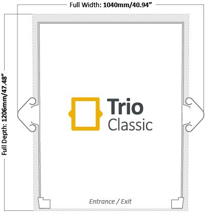 Trio Classic Footprint